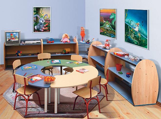 Мебель для детских садиков.